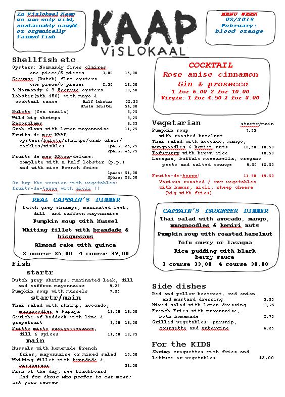 Menu Engish 2019-02-22